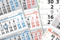 "Работни календари 3 тела ""Класик"""