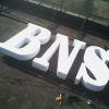 Реклама с обемни букви за BNS