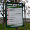 Рекламни, указателни и предупредителни табели за паркове и градини