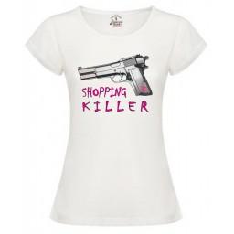 Дамска тениска Shopping Killer