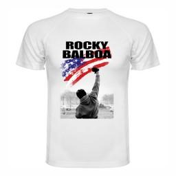 Спортна мъжка тениска Rocky Balboa