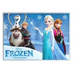 Детски пъзел А4 Frozen