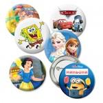 Значки с анимационни герои